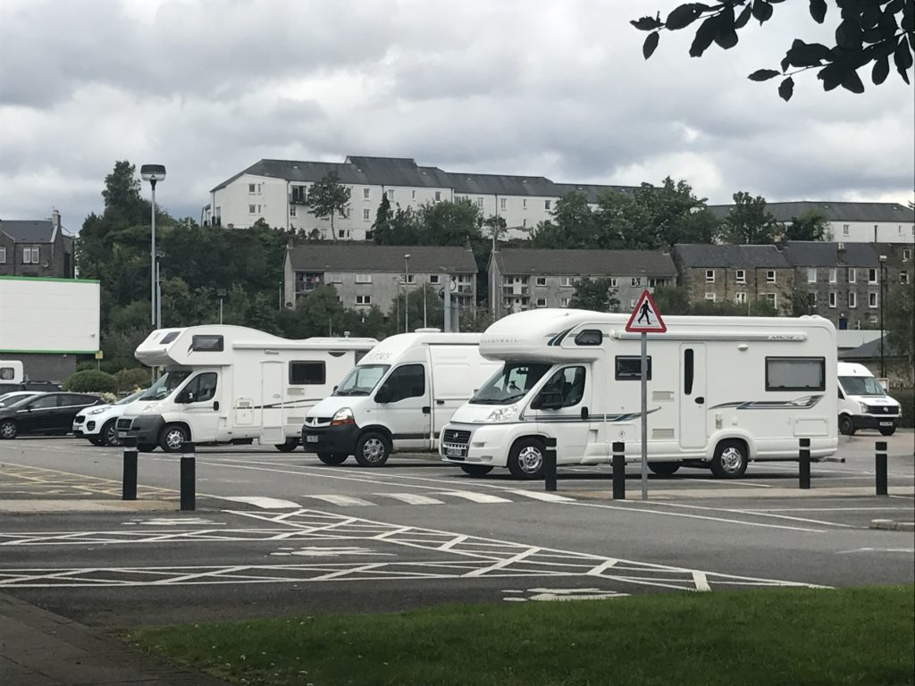 Call for Scottish Government to take a lead role in managing campervan tourism boom