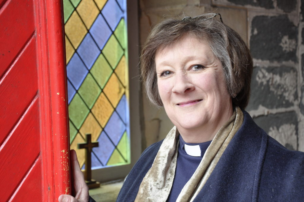 Provost for St John's Cathedral the Very Rev Margi Campbell welcomes all to Winter Praise. 16_T11_Margi Campbell_Provost