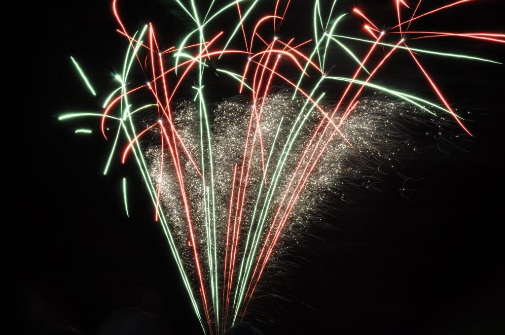 Hogmanay fireworks warning