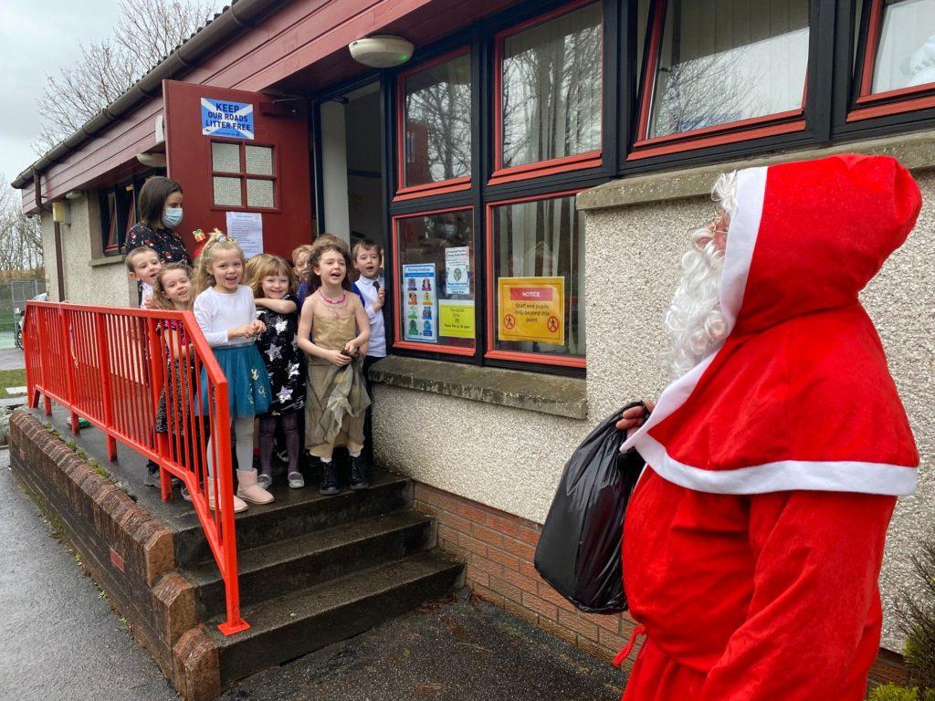 Lochnell pupils get a special visit
