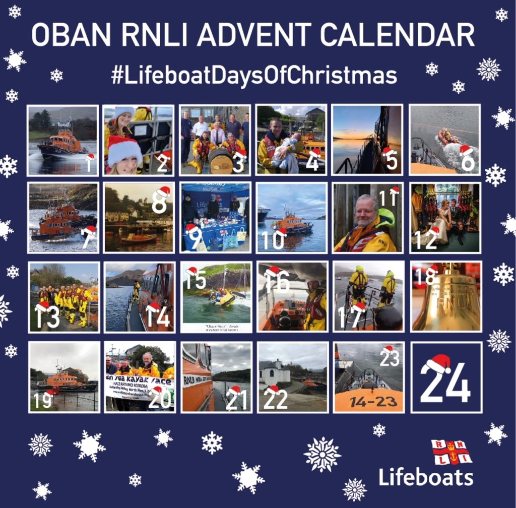 Oban Lifeboat counts down to Christmas