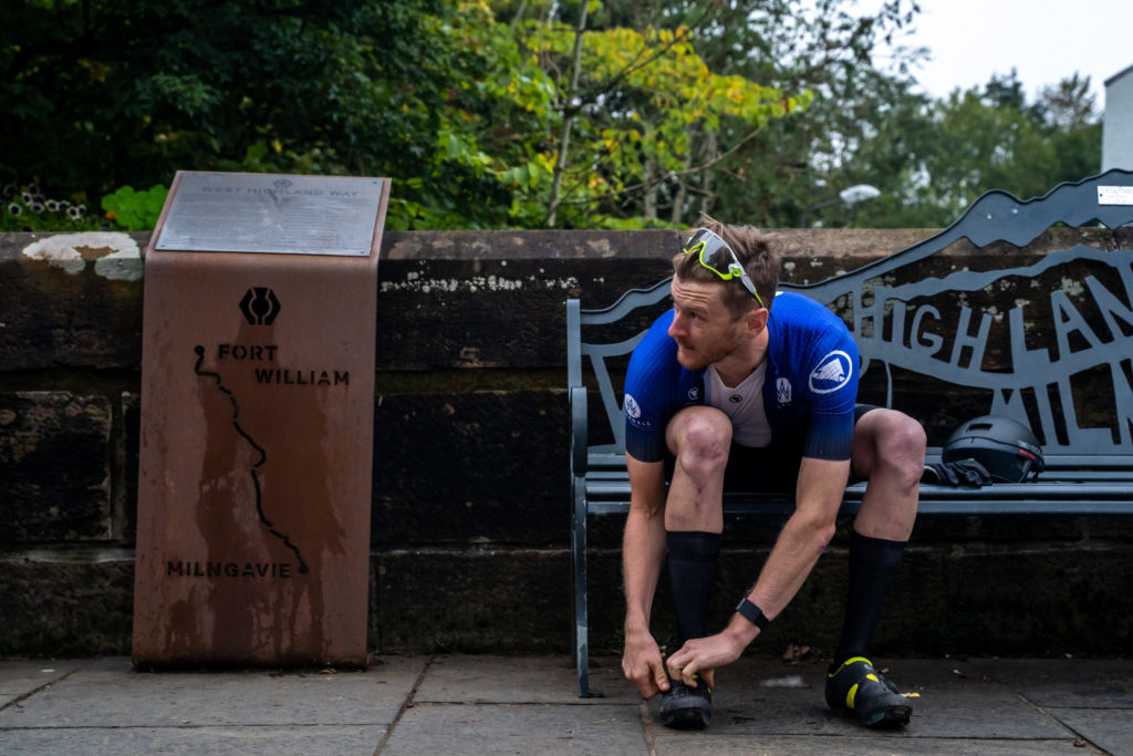 Wardell pedals to new West Highland Way record