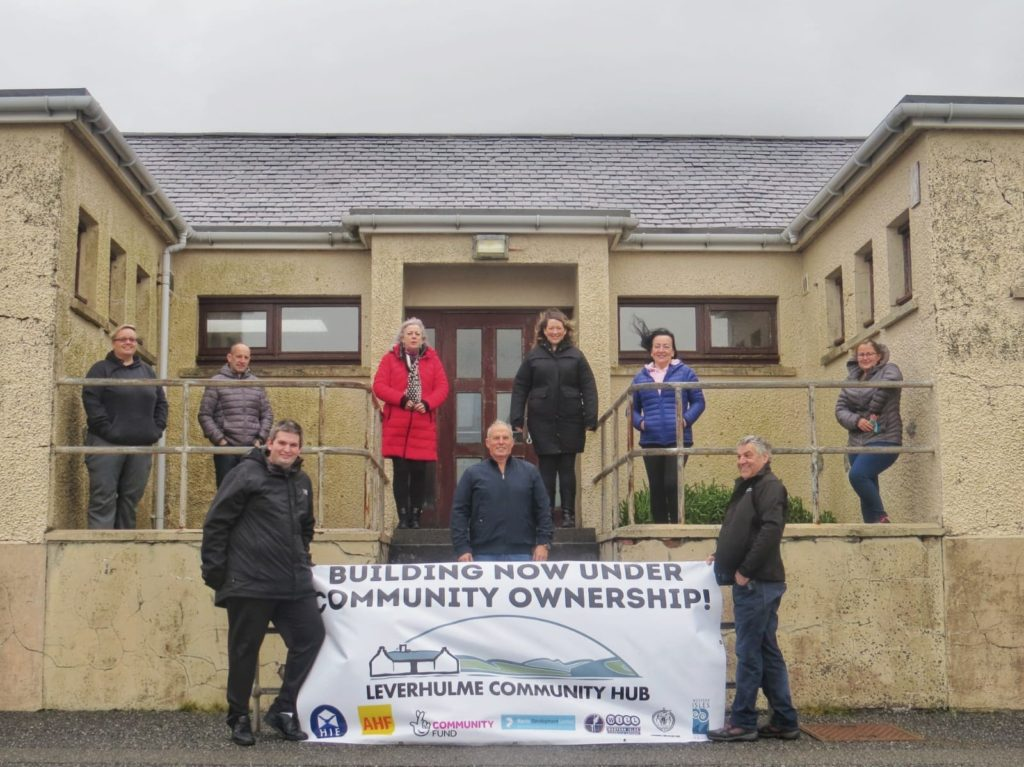 New lease of life for old Harris school building