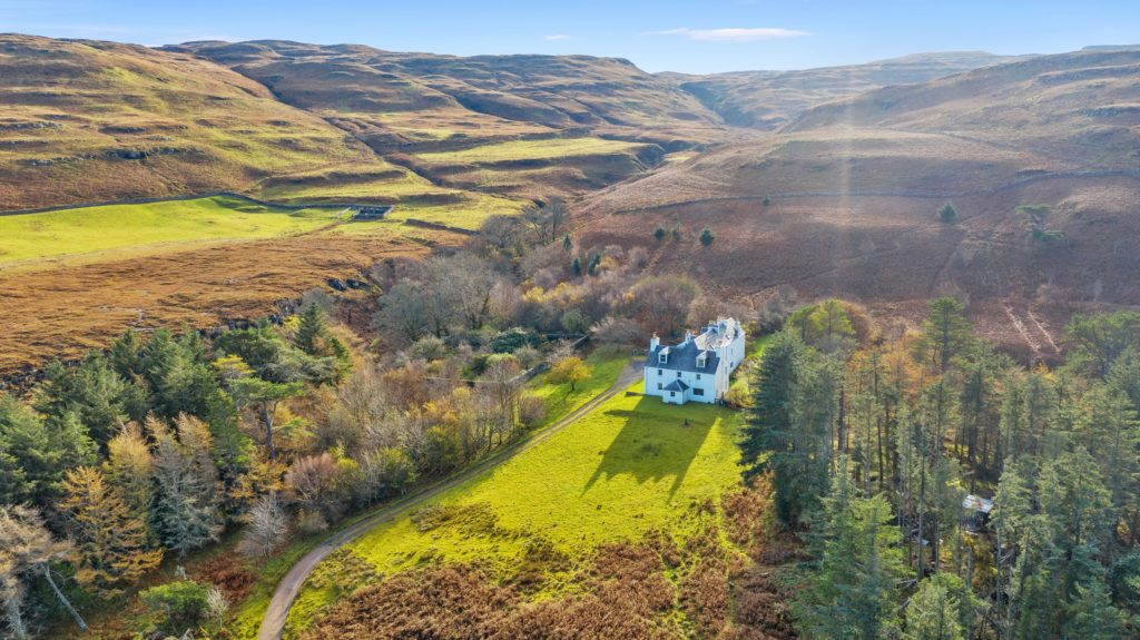 Former home of Lord Butler for sale on Mull