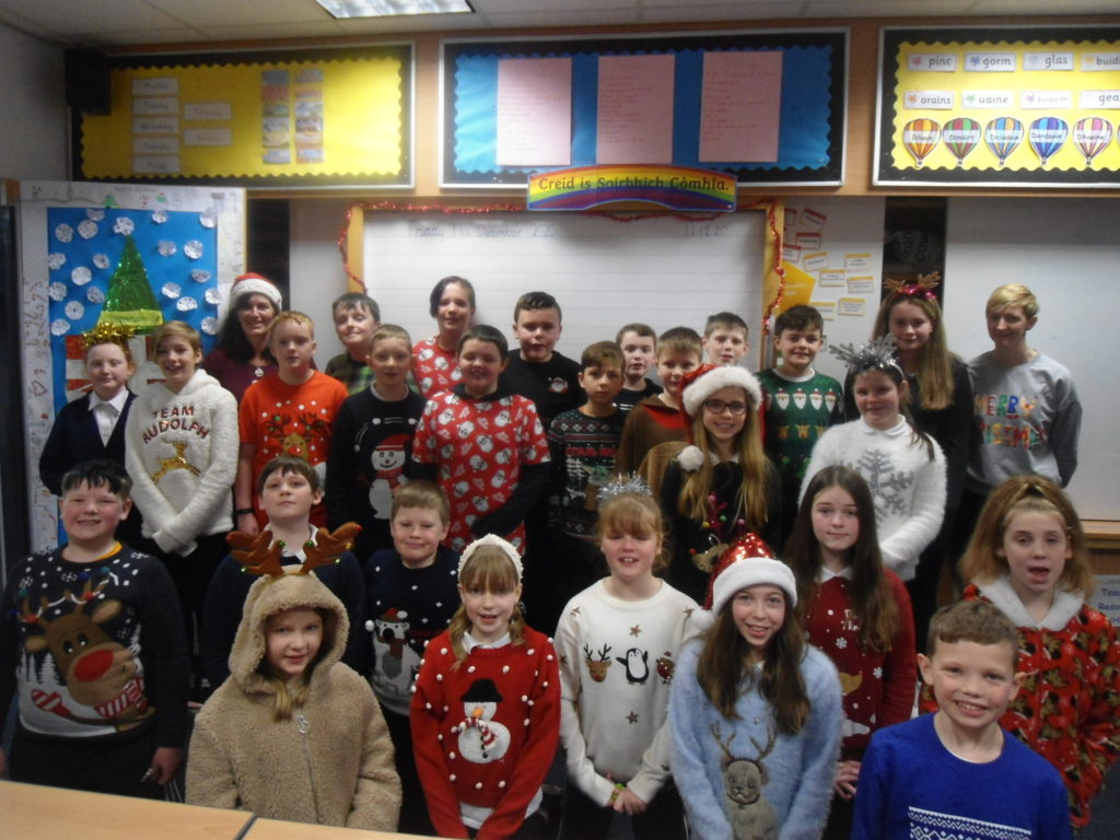 Rockfield School 'rocks' Christmas jumpers