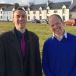 Councillor Alastair Redman, left, with Donald Cameron MSP.