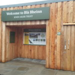 The previously completed RTIF project at Bla Bheinn (Skye) where green toilet facilities have been created at the popular climbing and visitor site, with improved and extended car parking, signage and information provision. NO F03 RTIF - Blabheinn with interpretation