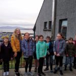 A scene from the film featuring pupils at Mallaig primary. NO F04 Mallaig Pprimary film