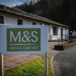 Clyde Munro Dental Group has confirmed that its M and S Dental Care practice in Fort William, pictured, is remaining open during this current Covid lockdown. NO F04 dental staff new