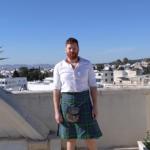 Stornoway man, Ben Stephen, pictured, is stationed in Tunis. NO F06 Ben Stephen, Tunisia