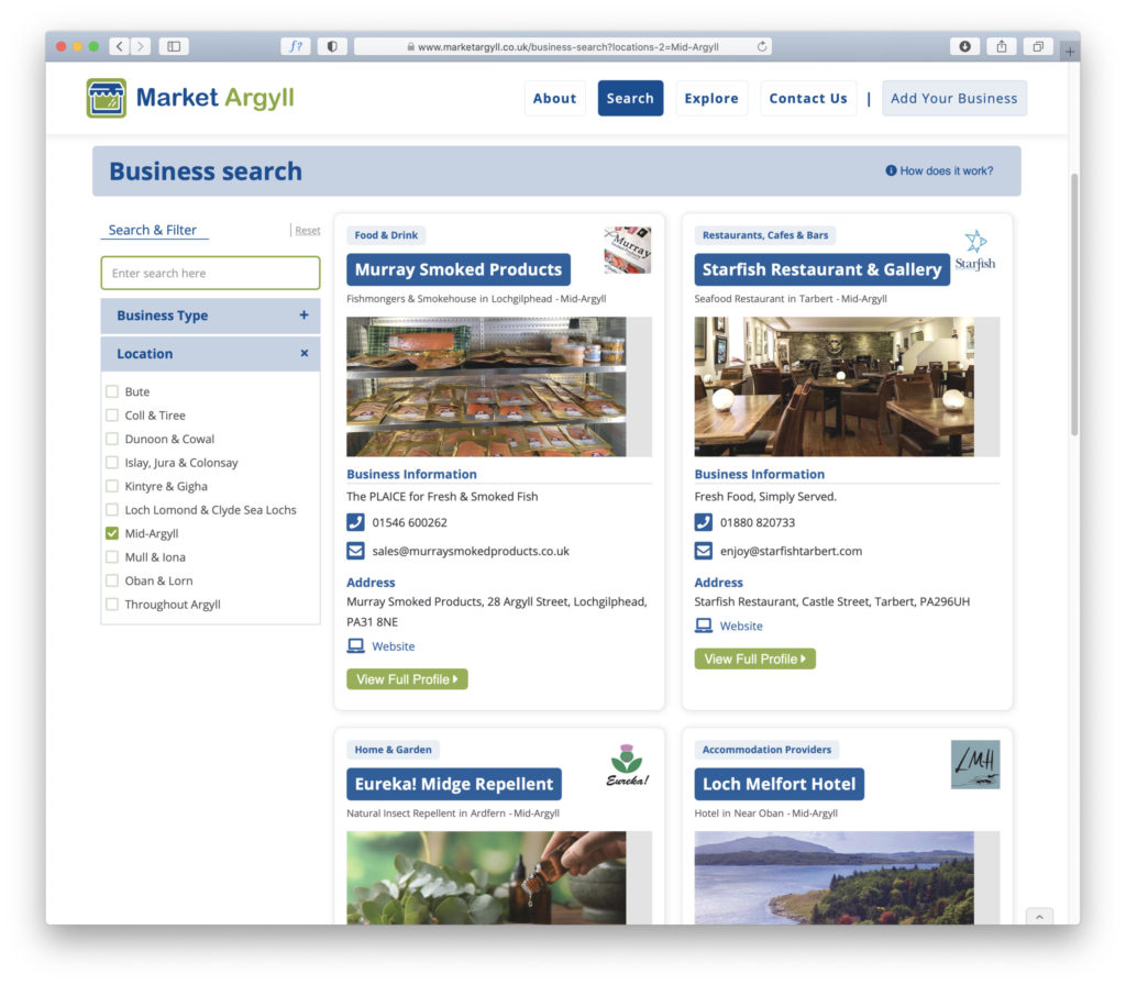 New virtual marketplace 'puts Argyll in your pocket'