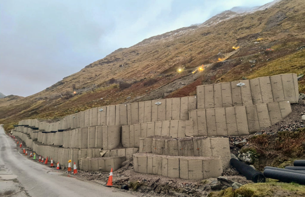 New 145ft long defensive wall for OMR