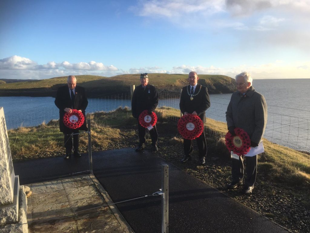 Comhairle pays tribute to Iolaire servicemen