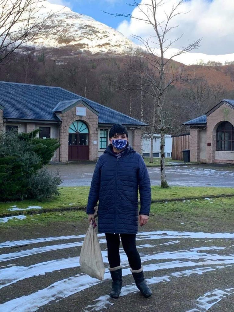 Kinlochleven Trust have Burns Night in the bag