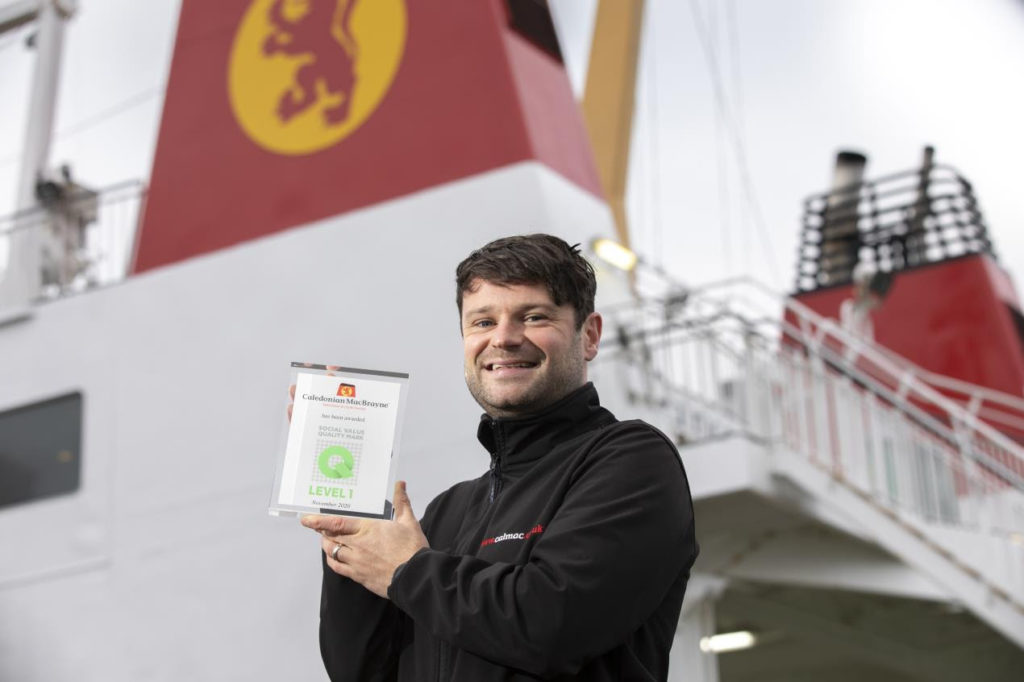 CalMac rewarded for community commitment