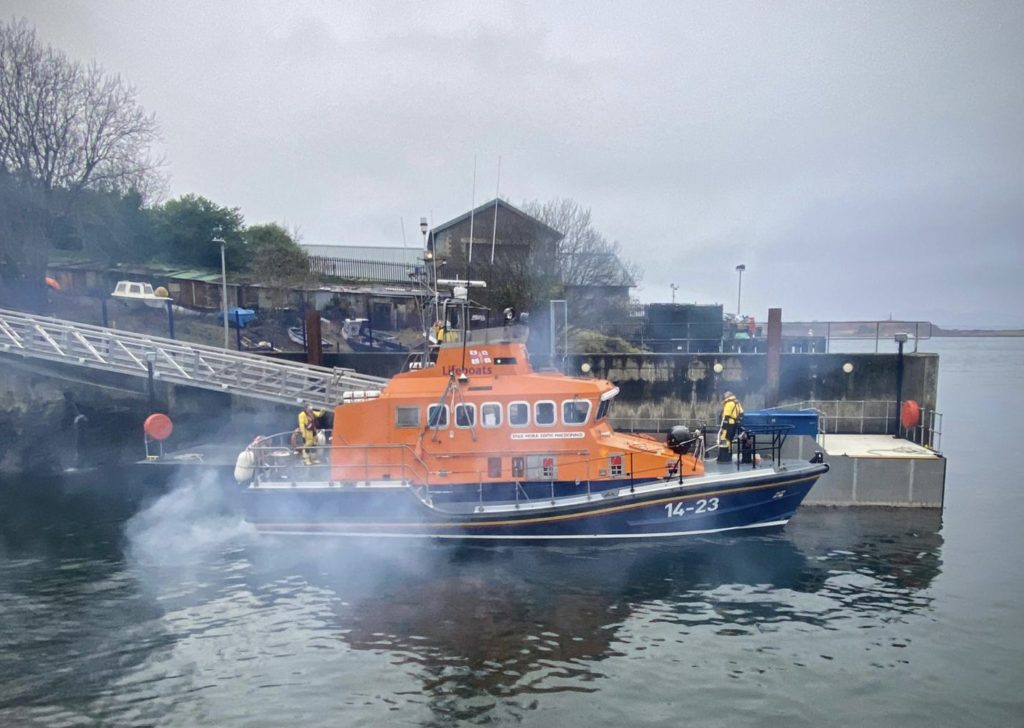 False alarm is lifeboat's first call out for 2021