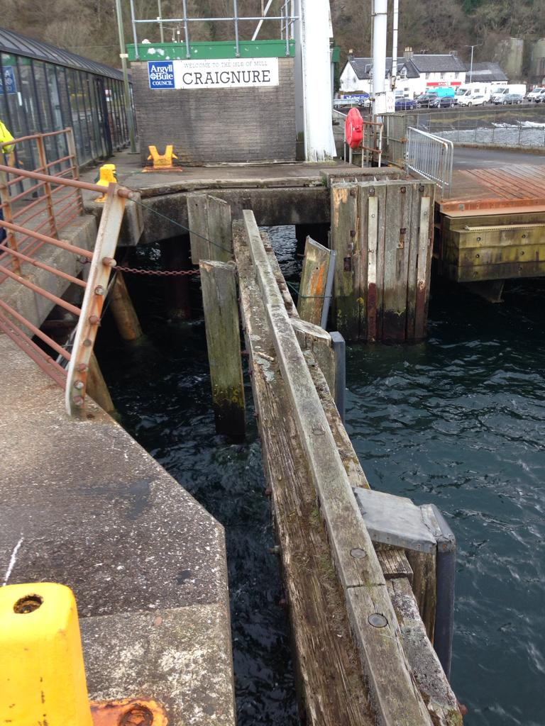 Have your say on Craignure ferry terminal future