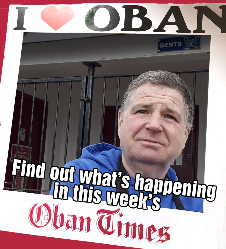 What's in This Week's Oban Times 20th January 2021