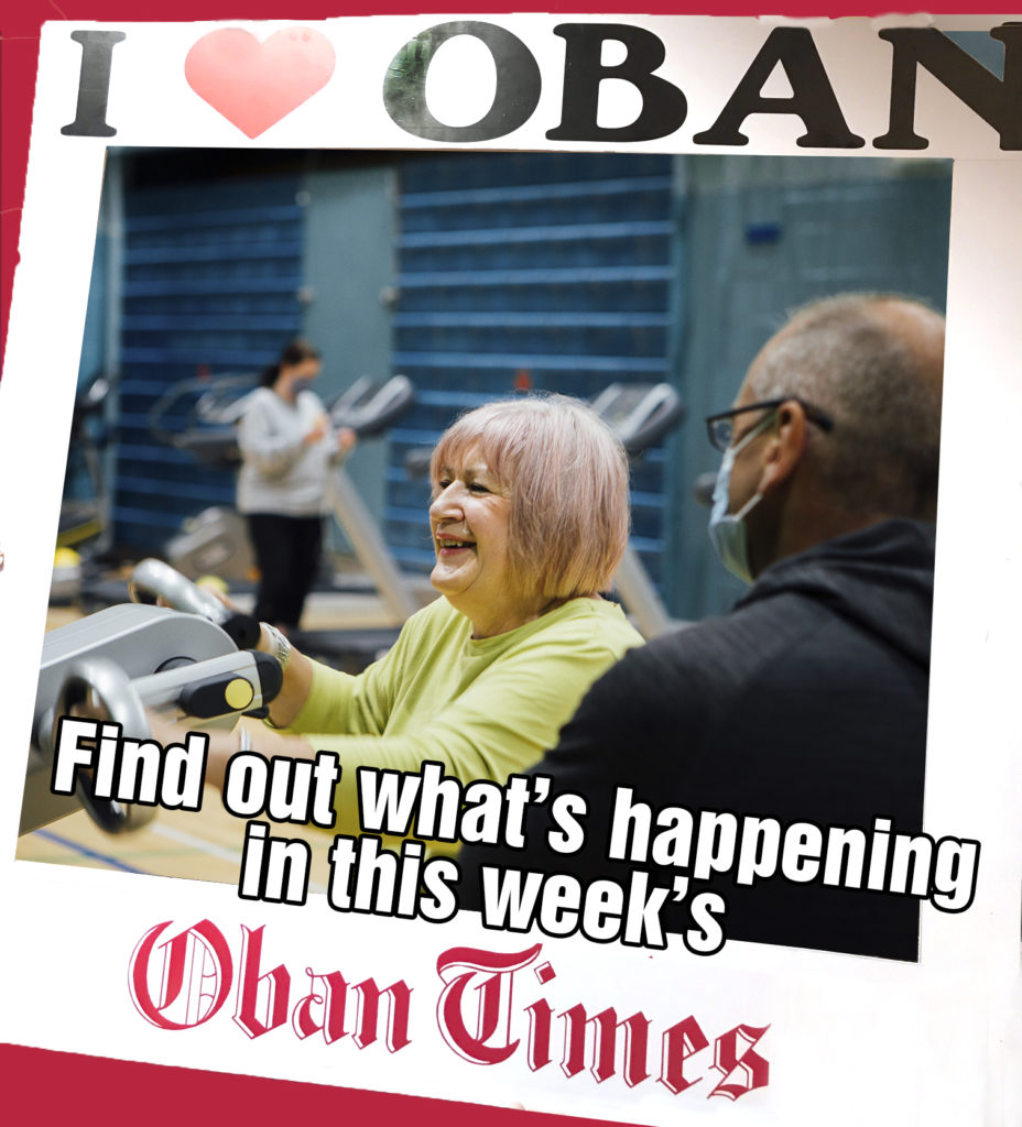 What's in This Week's Oban Times 13th January 2021
