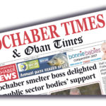 Newspapers like the Lochaber Times, pictured, need rates relief says local MSP Donald Cameron. Lochaber-Times-Front-Pg-pic.jpg