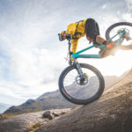 Danny MacAskill latest breath-taking biking exploits on Skye are already racking up views on his YouTube channel Photograph: Dave Mackison. NO F06 DANNY_DUBH_SLABS_019