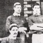 Scotland's former rugby captain, J D Boswell, pictured top left. Photograph: Viki Sutherland. NO F07 J D Boswell rugby pic