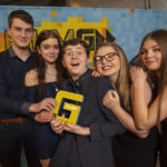 Ardnamurchan High School won Film Award for Gaelic Learners for their film last year and the school is hoping it is successful again when the winners are announced this month. Photograph: Alan Peebles. NO F09 FILMG 02