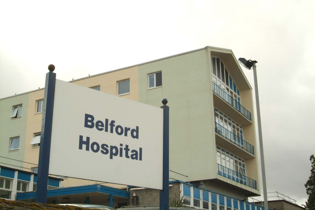 Belford Hospital in Fort William. NO F31 Belford 01