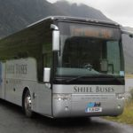 Bus services, such as this Shiel Buses service, are a vital link for rural areas like Lochaber. NO F47 Shiel Bus