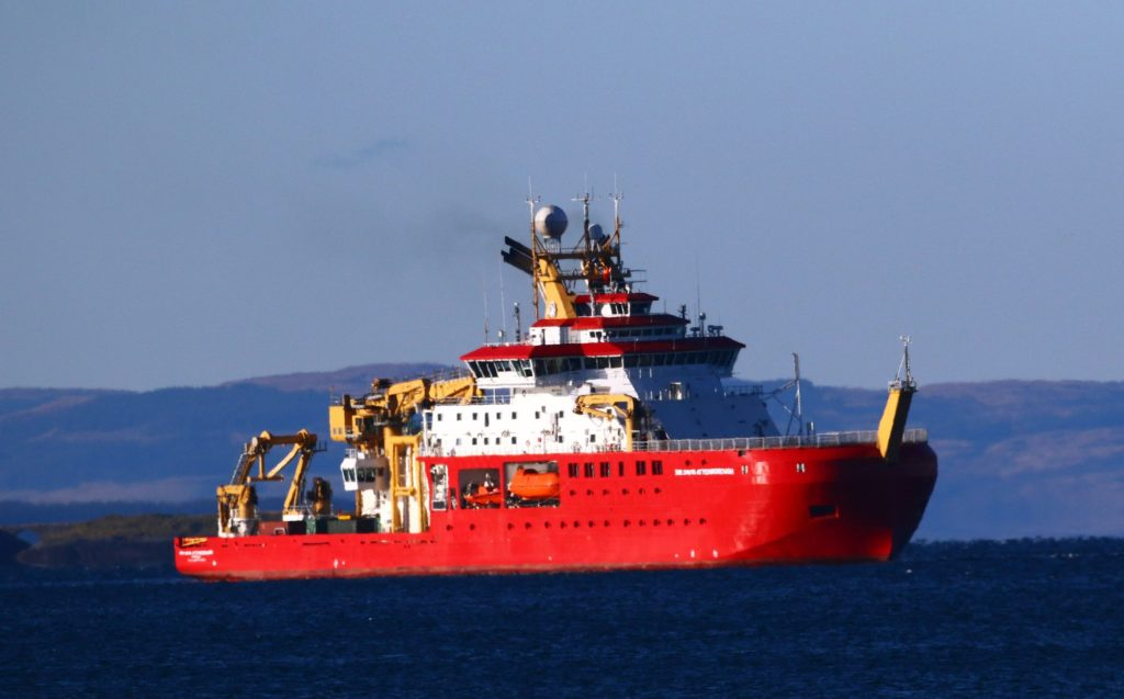 Famous ship is preparing for Antarctica mission