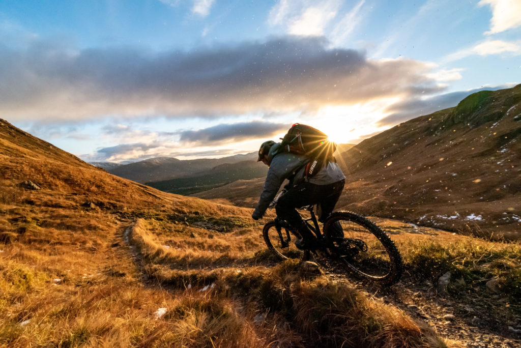 Griz finds cycling euphoria in the Highlands