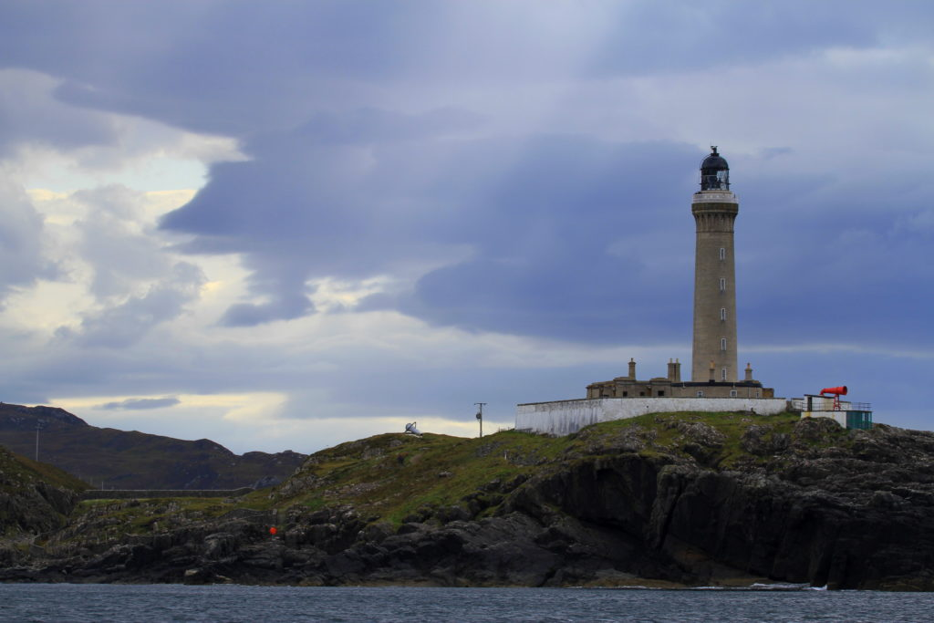 Ardnamurchan Lighthouse occupies the most westerly point on the UK mainland.