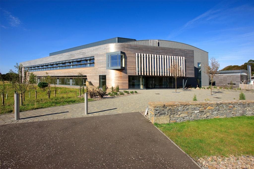 The European Marine Science Park, Dunstaffnage, near Oban in Argyll.