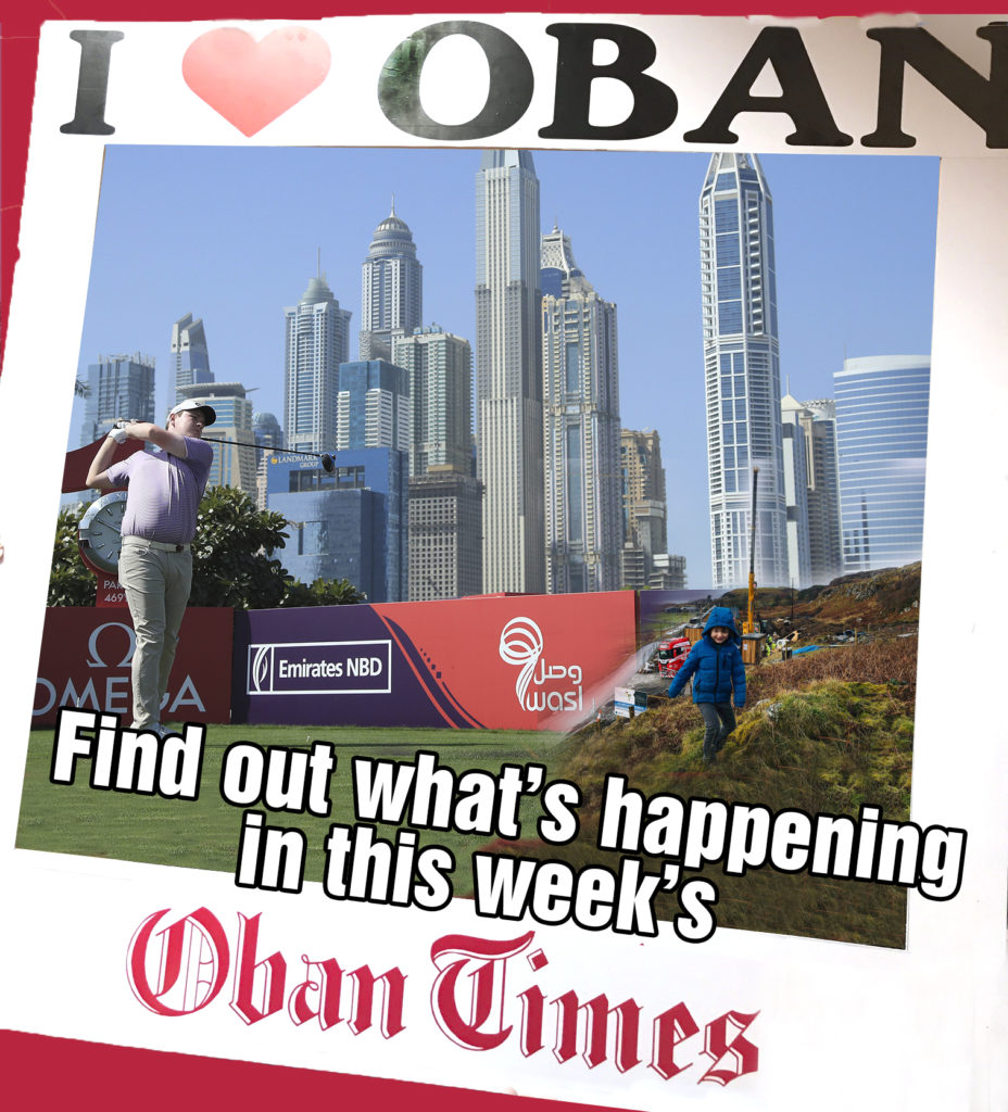 What's in This Week's Oban Times 3rd February 2021
