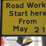 Resurfacing work in Glencruitten Road will take two weeks 16_T21_roadworks_Glencruitten