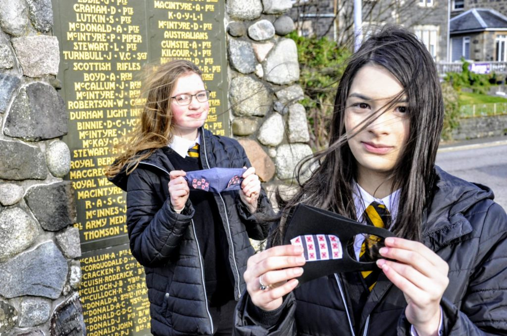 Oban pupils need votes in Poppy competition