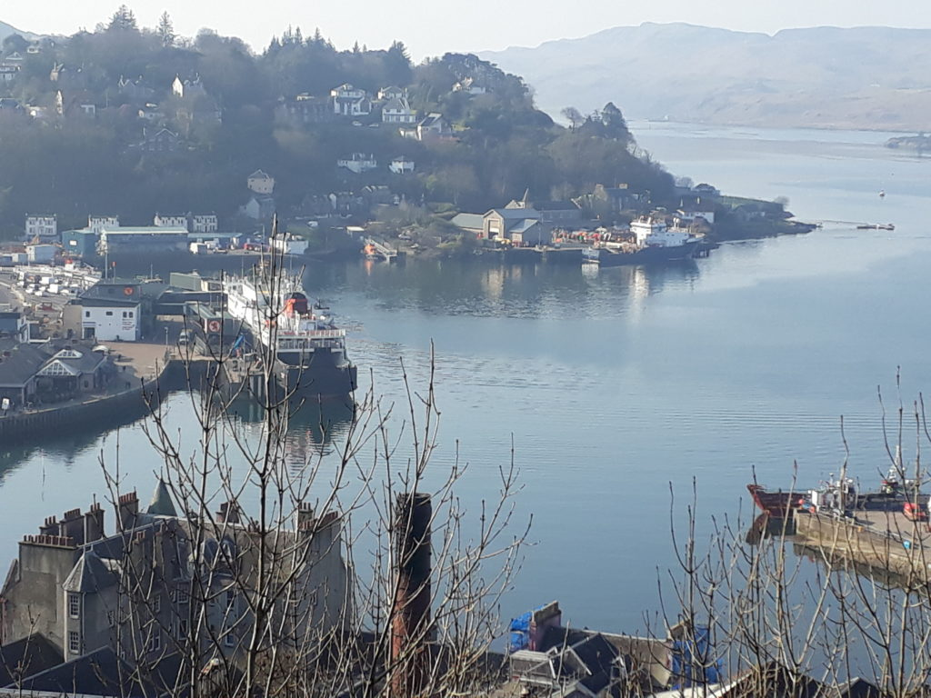 Oban is the fastest growing town in Argyll and Bute. FSMob_T10_Harbour 3