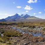 Skye attracts more than 500,000 tourists a year with stunning areas of natural beauty. NO F09 Skye Cuillins