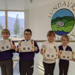P1-P3 certificate receivers from Lundavra Primary in Fort William. NO F10 Lundavra category P1-3 Poetry certificate receivers