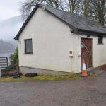 The former MOWI shorebase building at Glenfinnan. F11 Loch Shiel shorebasePhotograph: Mark Entwistle. F11 Loch Shiel shorebase
