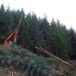 NO F12 Glen Righ Jan Winch Extraction above A82