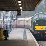 The special train belonging to Jeremy Hosking pulls into Fort William station during a visit to the West Highland Line this month that proved controversial. Photograph: Iain Ferguson, The Write Image. NO F12 Hosking Special Train.jpg 01