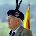 Ranald MacDonell, who died recently, became 23rd Chief of Glengarry in 1999. He is pictured here at the Glenfinnan Gathering in 2012. Photograph: Iain Ferguson, alba.photos NO-F12-MacDonnell-of-Glengarry-scaled.jpg