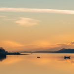 Loch Linnhe at sunset. The word 'linnhe' means a deep pool, or sound in Gaelic. Photograph: Johnpaul Peebles, Abrightside Photography. LOCH LINNHE SUNSET Photograph: Johnpaul Peebles, Abrightside Photography