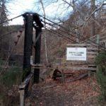 Monessie Bridge, over the River Spean near Roy Bridge, which has been closed due to safety concerns. NO F13 Monessie Bridge