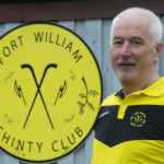 Willie MacDonald of Fort William Shinty Club. Photograph: Iain Ferguson, alba,photos NO F14 Willie MacDonald Fort Shinty 03