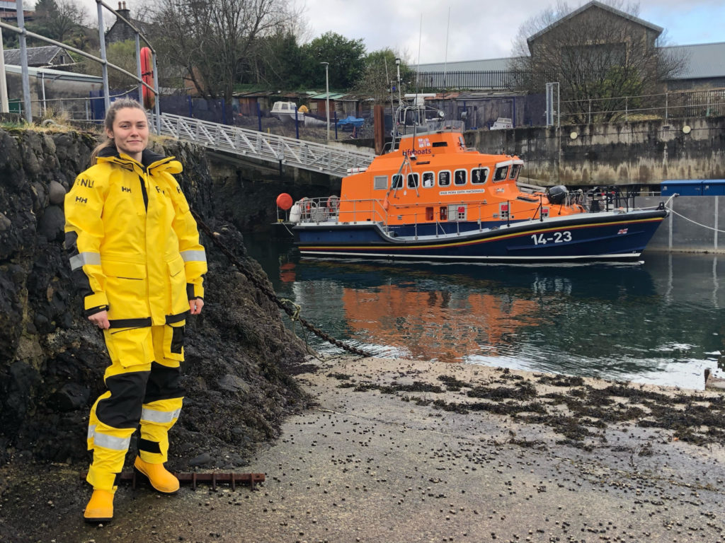 Celebrating women helping save lives at sea