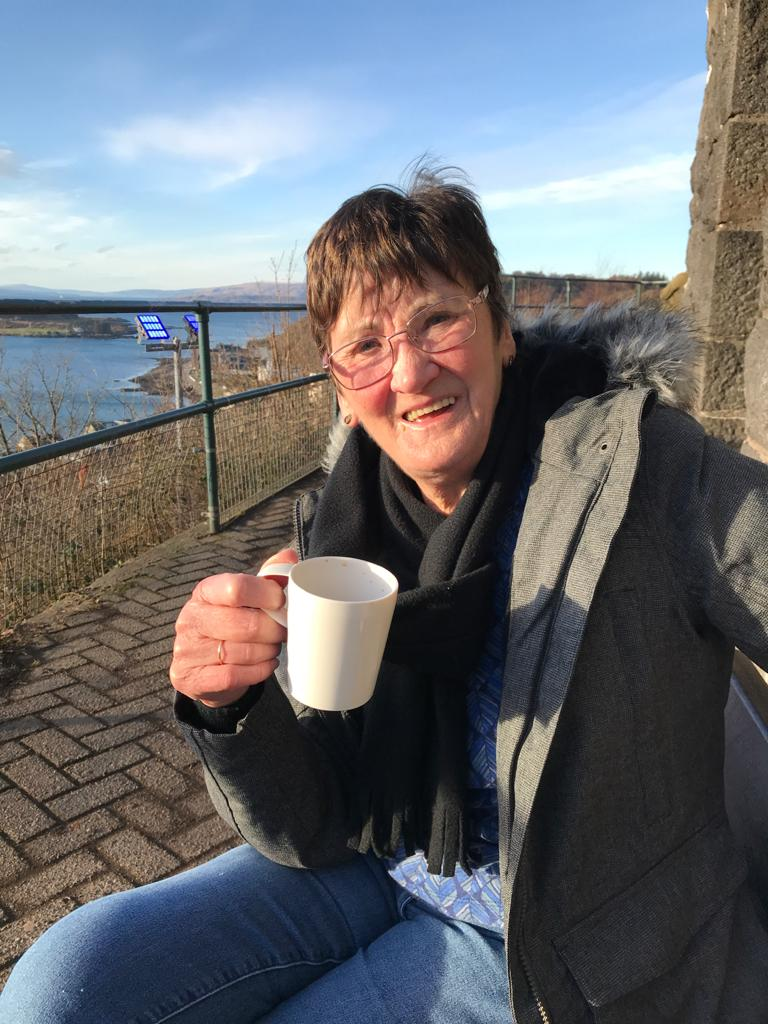 Gran takes great steps for health charity