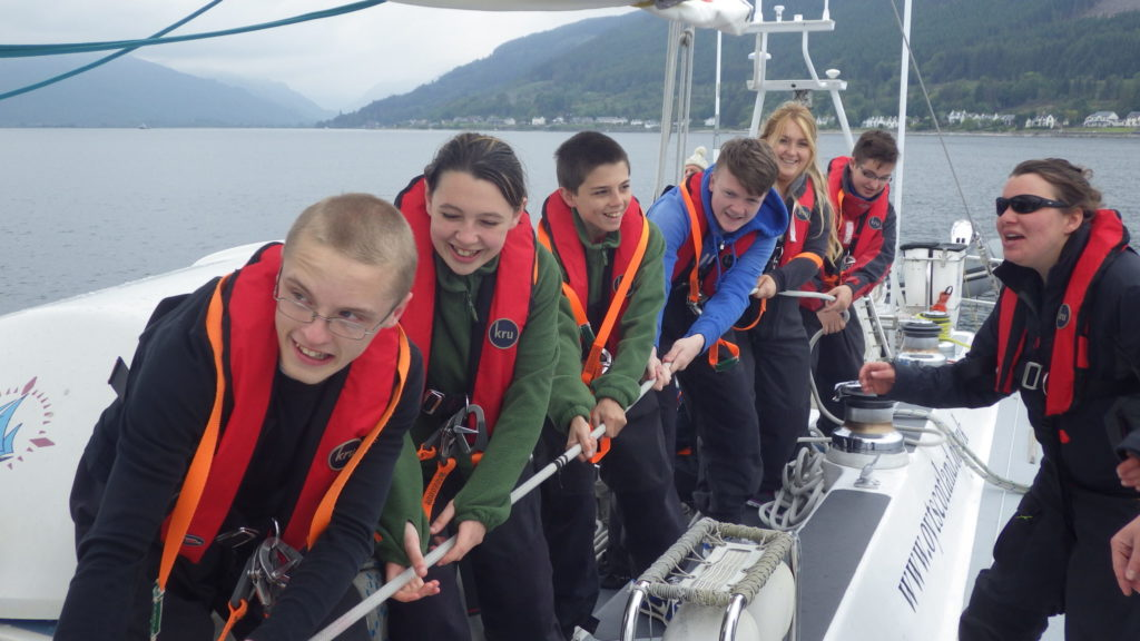 All female team at helm of national sailing charity