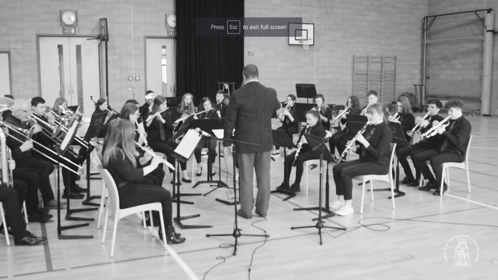 Youth Concert Band showcases talent on Facebook